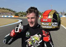 SBK, Jerez 2015. I caschi di Johnny