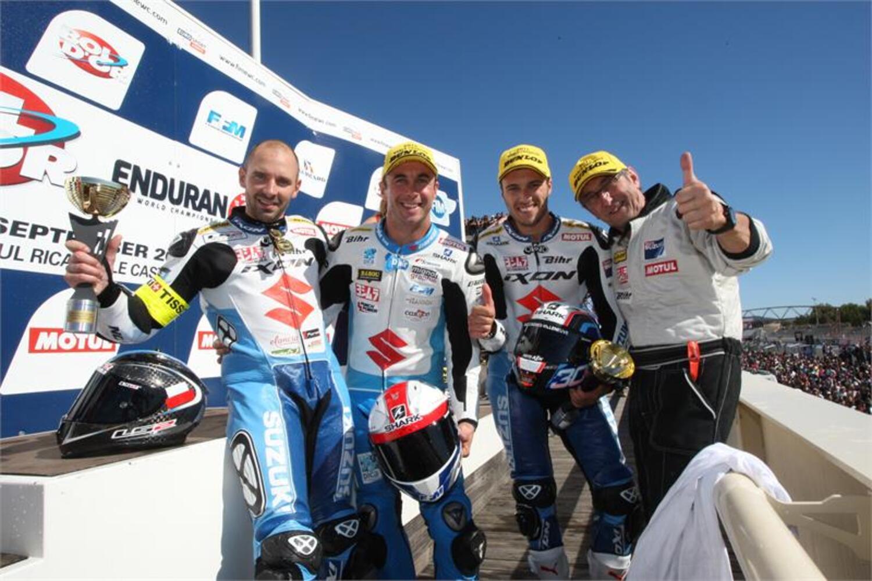 SRC Kawasaki vince il Bol d'Or 2015 e SERT Suzuki il titolo Endurance