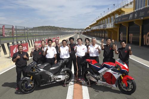 Il team di tecnici autori del capolavoro Honda