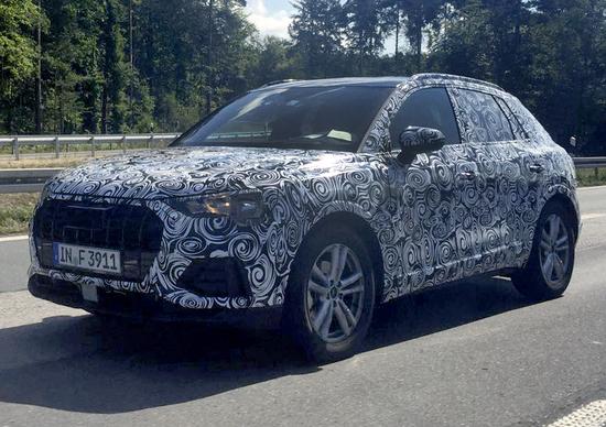 Audi Q3, collaudi per la nuova generazione