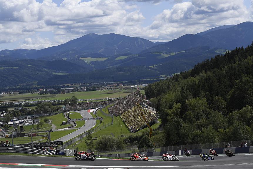 MotoGP. Le foto più belle del GP d'Austria 2017 (5)