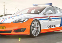 In Lussemburgo la Polizia con due Model S