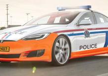 In Lussemburgo la Polizia con due Model S