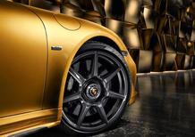 Porsche lancia nuovi cerchi in carbonio sulla 911