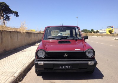 A112 junior d'epoca del 1985 a Alghero d'epoca