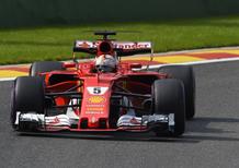 F1, GP Belgio 2017, Vettel: «Il giro buono è arrivato al momento giusto»