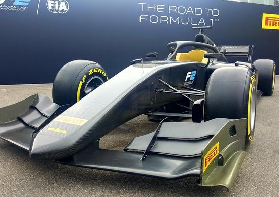 La nuova F2: dal 2018 molto più vicina alla F1