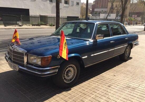 Mercedes-Benz 450 SEL, all'asta quella del Re di Spagna