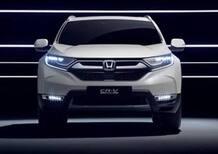 Honda CR-V, quello nuovo a Francoforte