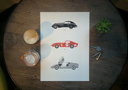 Rear View Prints, stampe must-have per gli appassionati di motori