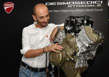 Claudio Domenicali, Ducati: Pelle d'oca!