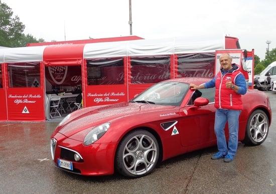 Alfa Romeo, appuntamento a Vallelunga nel weekend
