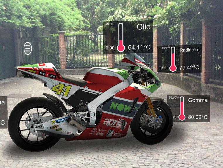 MotoGP. Nel box Aprilia con la realtà aumentata (2)