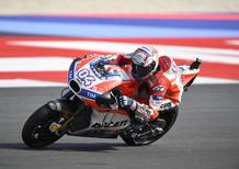 MotoGP 2017. Dovizioso: Incredibile, tutto il tifo per me!