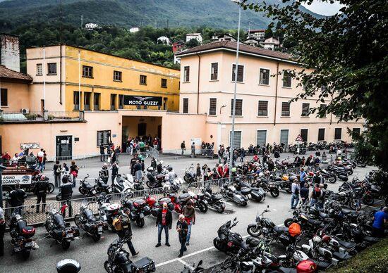 In 15.000 alla Moto Guzzi Open House 2017