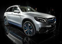 Mercedes GLC F-Cell, boccata di idrogeno a Francoforte