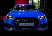 Nuova Audi RS 4 Avant, esordio al Salone di Francoforte 2017 [Video]
