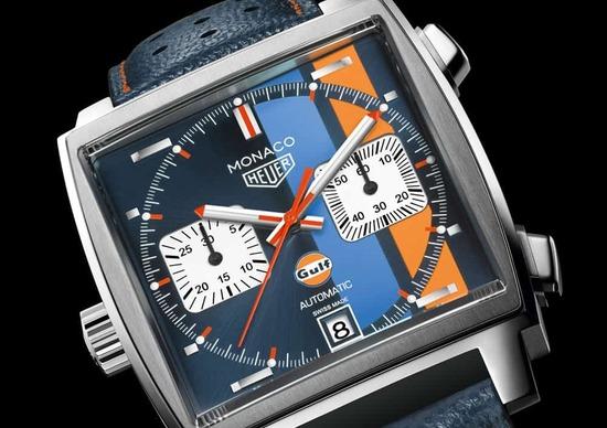 TAG Heuer Monaco Gulf Special Edition, una nuova edizione per i 50 anni di Gulf Racing