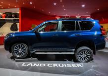 Toyota Land Cruiser restyling al Salone di Francoforte 2017