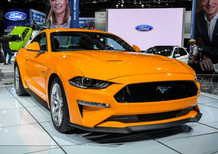 Ford Mustang restyling al Salone di Francoforte 2017 [Video]