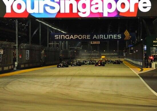 Orari Formula 1 GP Singapore 2017 diretta Rai e Sky