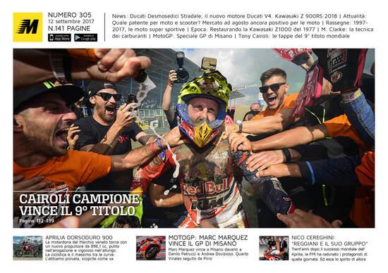 Magazine n° 303, scarica e leggi il meglio di Moto.it