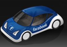 Salone di Francoforte 2017, Facebook con l'automotive