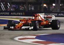 F1, GP Singapore 2017: Ferrari, che batosta