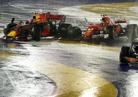 F1 GP Singapore 2017: incidente al via, di chi è la colpa?