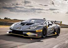 Lamborghini Huracan Super Trofeo EVO, squalo da pista [Video]