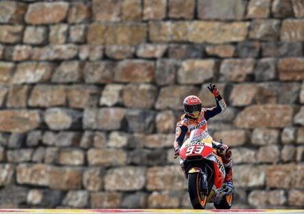 MotoGP 2017. Marquez si aggiudica le FP3 ad Aragon