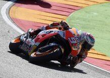 MotoGP 2017. Márquez è il più veloce nel warm-up ad Aragón
