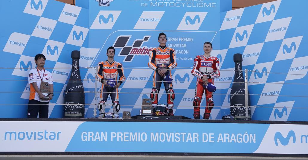MotoGP 2017. Spunti, considerazioni e domande dopo il GP di Aragon