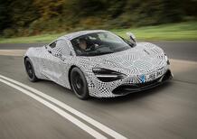 McLaren BP23, le prime immagini della nuova hypercar