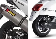Akrapovic Yamaha X-Max 400 e Vespa GT300