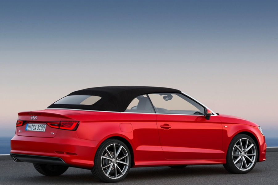 audi a3 cabrio catalogo e listino prezzi audi a3 cabrio. Black Bedroom Furniture Sets. Home Design Ideas