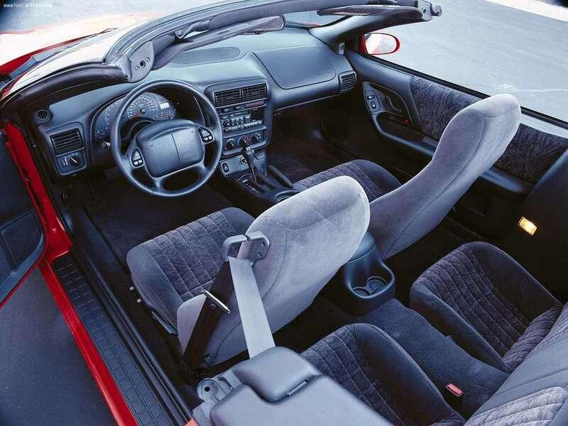 Chevrolet Camaro Cabrio (1998-02) (3)