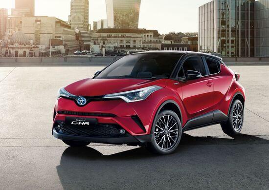 Toyota C-HR, col my 2018 arriva la Trend