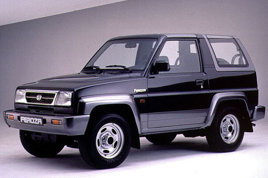 Daihatsu Feroza 1.6i cat Resin-top EL