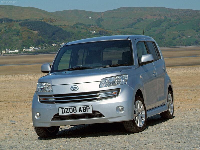 Daihatsu Materia (2006-11) (4)