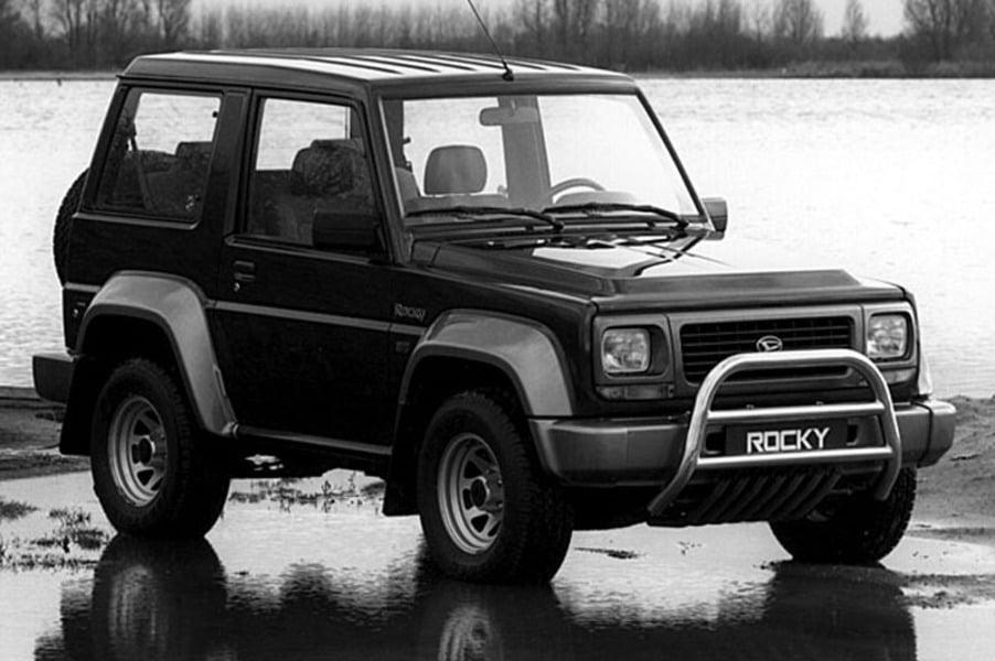 Daihatsu Rocky 2.8 TD Furgone corto F70LV-T/N