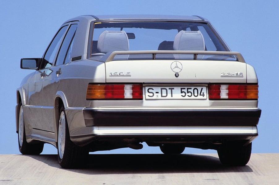 Mercedes benz 190 e 10 1989 02 1991 prezzo e scheda for Fred martin mercedes benz