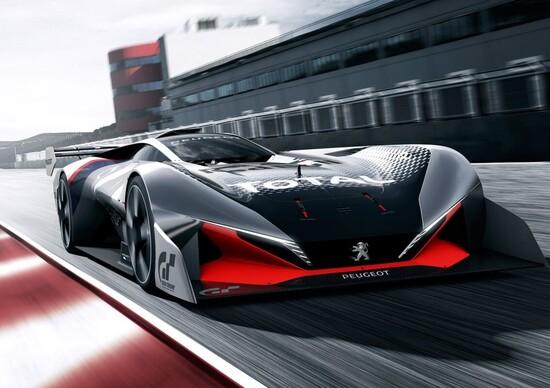 Peugeot L750 R HYbrid mostro per GT sport