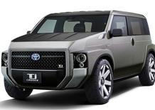 Toyota TJ Cruiser Concept, tra SUV e furgone
