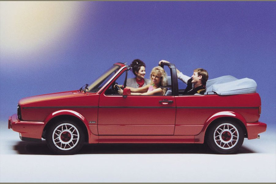 Volkswagen Golf Cabrio (1979-93) (3)