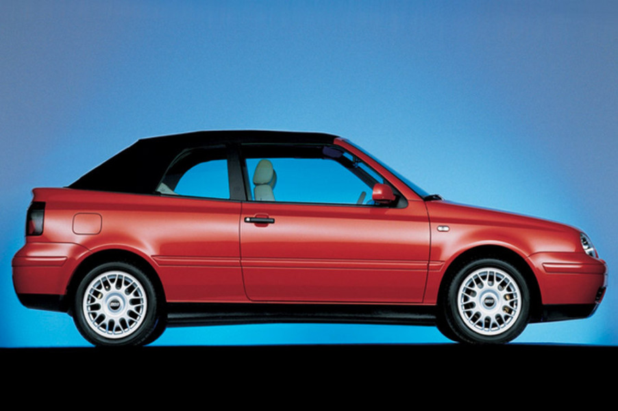 Volkswagen Golf Cabrio (1998-02) (4)