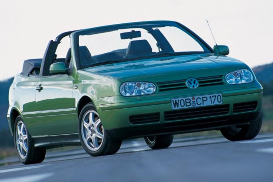 Volkswagen Golf Cabrio (1998-02)