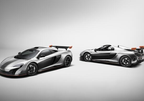McLaren MSO R Coupé e Spider: un cliente, due fuoriserie