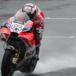 MotoGP 2017. Dovizioso è il più veloce nelle libere (bagnate) in Giappone