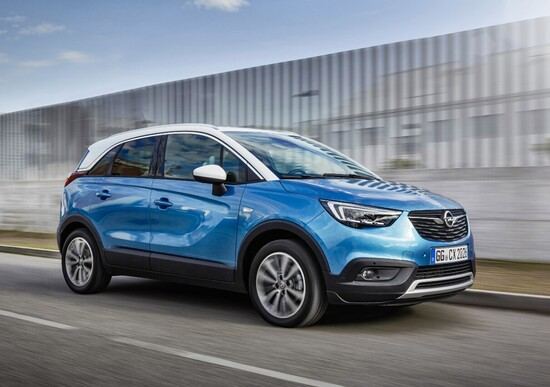 opel crossland x gpl tech il suv si fa eco news. Black Bedroom Furniture Sets. Home Design Ideas